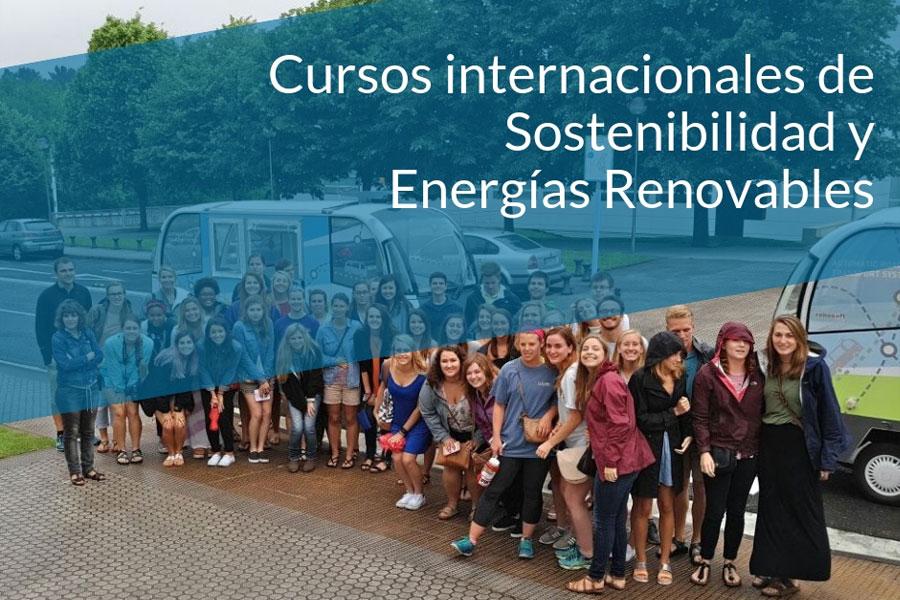 Becas para los cursos internacionales en inglés de Energías Renovables y Sostenibilidad