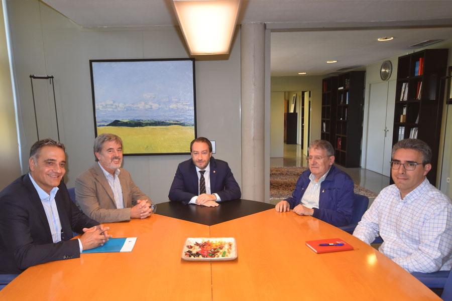 CITI Navarra y UPNA refuerzan su colaboración en el marco de la Cátedra Industria 4.0